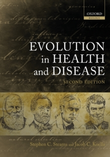 Evolution in Health and Disease, Paperback / softback Book