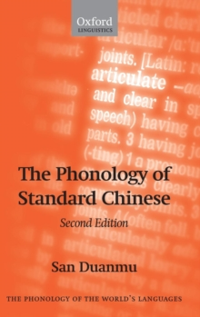 The Phonology of Standard Chinese, Hardback Book