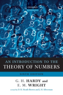 An Introduction to the Theory of Numbers, Paperback Book