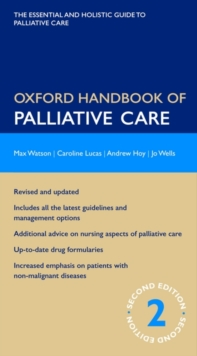 Oxford Handbook of Palliative Care, Part-work (fasciculo) Book