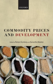 Commodity Prices and Development, Hardback Book