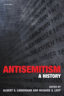 Antisemitism : A History, Paperback / softback Book