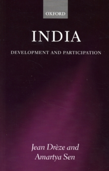 India : Development and Participation, Paperback / softback Book