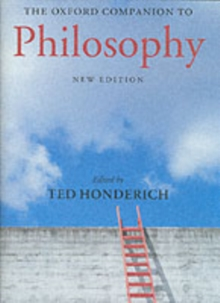 The Oxford Companion to Philosophy, Hardback Book