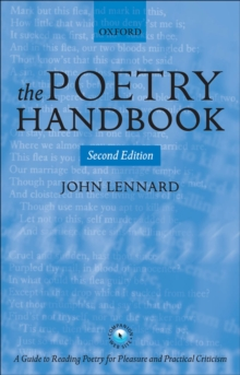 The Poetry Handbook, Paperback Book