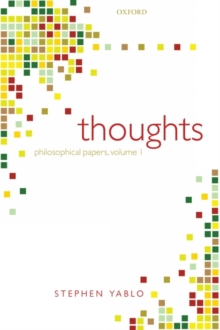 Thoughts : Papers on Mind, Meaning, and Modality, Paperback / softback Book