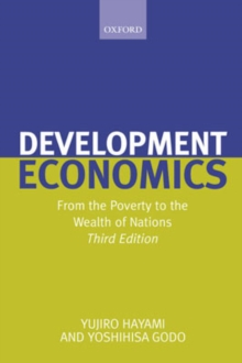 Development Economics : From the Poverty to the Wealth of Nations, Paperback / softback Book