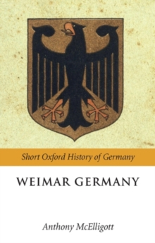 Weimar Germany, Paperback / softback Book