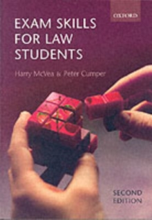 Exam Skills for Law Students, Paperback Book