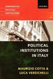 Political Institutions in Italy, Paperback Book