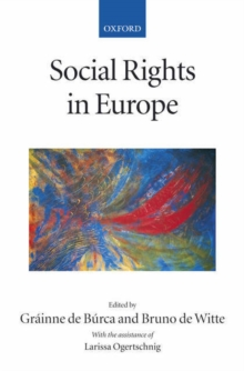 Social Rights in Europe, Paperback / softback Book