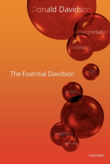 The Essential Davidson, Paperback / softback Book