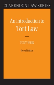 An Introduction to Tort Law, Paperback Book