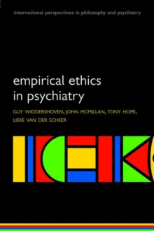 Empirical Ethics in Psychiatry, Paperback / softback Book