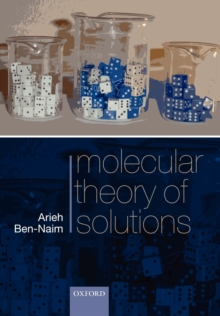 Molecular Theory of Solutions, Paperback / softback Book