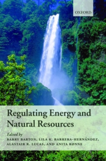 Regulating Energy and Natural Resources, Hardback Book