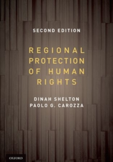 Regional Protection of Human Rights: Documentary Supplement, Paperback / softback Book