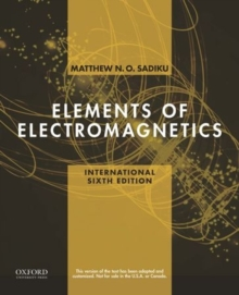 Elements of Electromagnetics, Paperback Book
