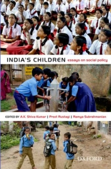 India's Children : Essays on Social Policy, Hardback Book