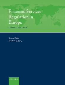 Financial Services Regulation in Europe, Hardback Book