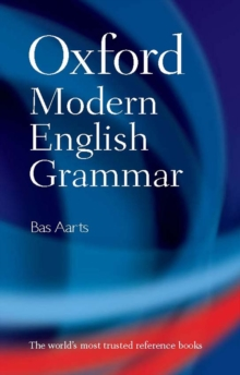 Oxford Modern English Grammar, Hardback Book
