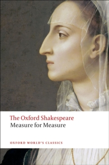 Measure for Measure: The Oxford Shakespeare, Paperback Book