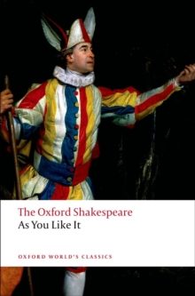 As You Like It: The Oxford Shakespeare, Paperback Book