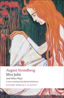 Miss Julie and Other Plays, Paperback Book
