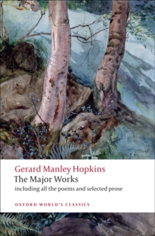 Gerard Manley Hopkins : The Major Works, Paperback / softback Book