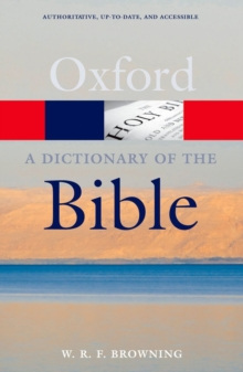 A Dictionary of the Bible, Paperback / softback Book