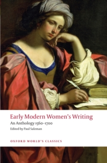 Early Modern Women's Writing : An Anthology 1560-1700, Paperback / softback Book