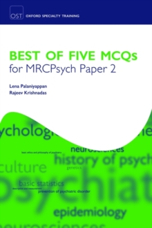 Best of Five MCQs for MRCPsych Paper 2, Paperback / softback Book