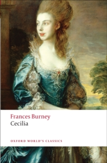 Cecilia : Or Memoirs of an Heiress, Paperback Book