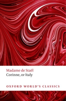 Corinne : or Italy, Paperback Book