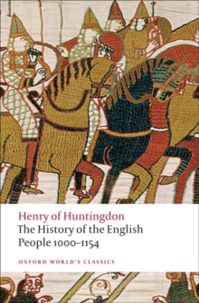 The History of the English People 1000-1154, Paperback / softback Book