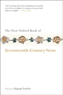 The New Oxford Book of Seventeenth-century Verse, Paperback Book