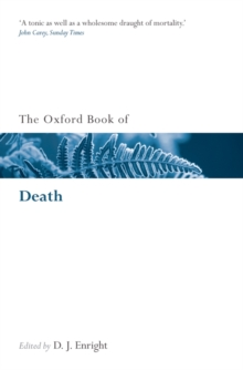 The Oxford Book of Death, Paperback / softback Book