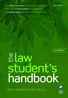 The Law Student's Handbook, Paperback Book