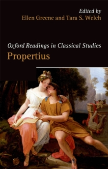 Oxford Readings in Propertius, Paperback Book