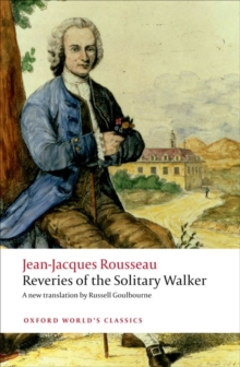 Reveries of the Solitary Walker, Paperback Book