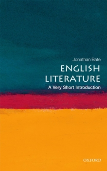 English Literature: A Very Short Introduction, Paperback / softback Book