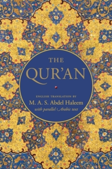 The Qur'an : English Translation with Parallel Arabic Text, Hardback Book