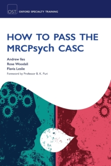 How to Pass the MRCPsych CASC, Paperback / softback Book
