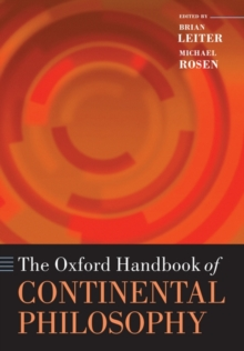 The Oxford Handbook of Continental Philosophy, Paperback / softback Book
