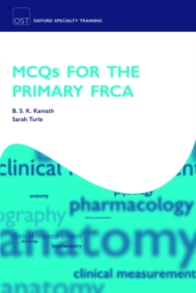MCQs for the Primary FRCA, Paperback / softback Book