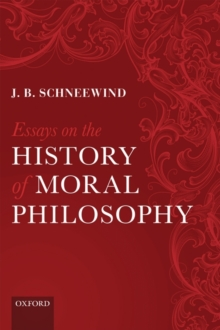 Essays on the History of Moral Philosophy, Paperback / softback Book
