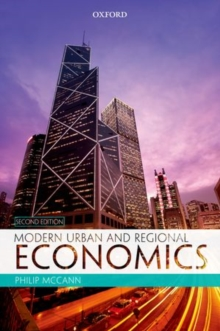 Modern Urban and Regional Economics, Paperback Book