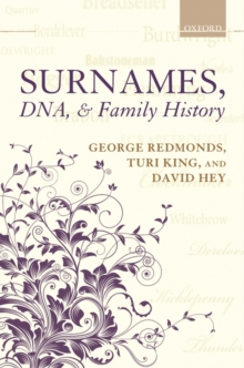 Surnames, DNA, and Family History, Hardback Book