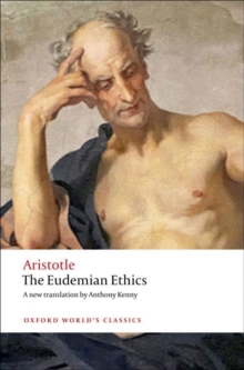 The Eudemian Ethics, Paperback / softback Book