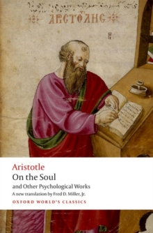 On the Soul : and Other Psychological works, Paperback / softback Book